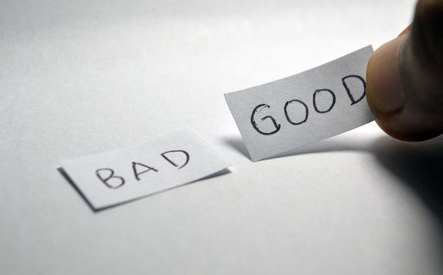 Positive Sachen heraussuchen